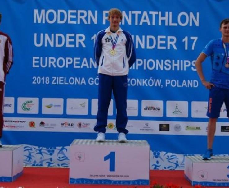 Pentathlon Moderno: Giorgio Malan sul tetto d'Europa