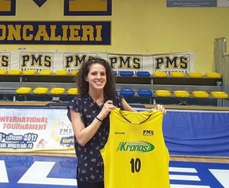 Basket: l'Akronos Moncalieri conferma Dalila Domizi
