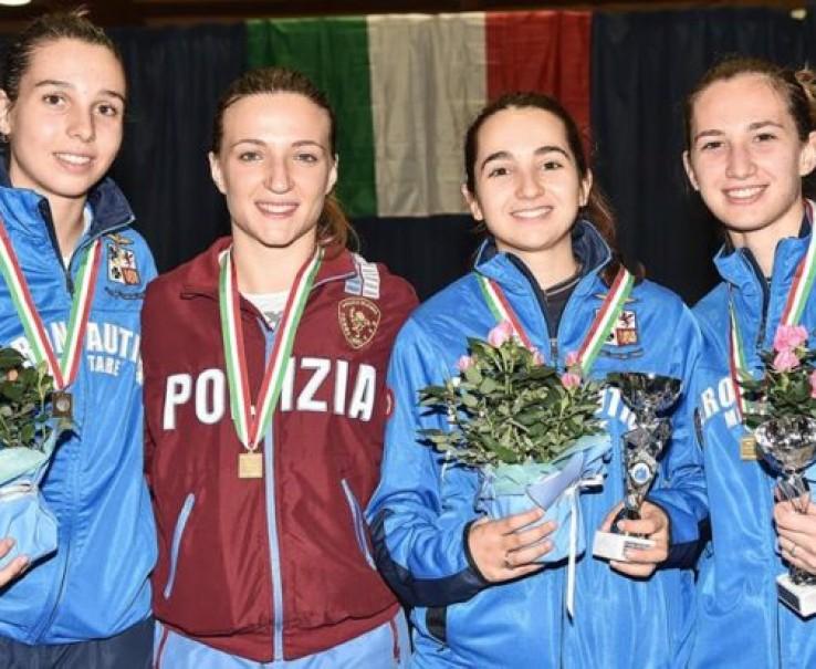 Scherma: Alice Clerici campionessa italiana under 23. Podio piemontese