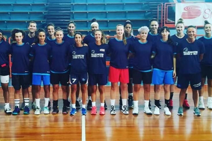 Serie A1: Iren Fixi Pallacanestro Torino - Basket San Martino di Lupari