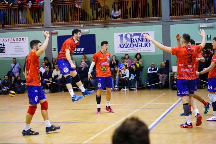 Serie B: Volley Parella Torino - Mercatò Alba