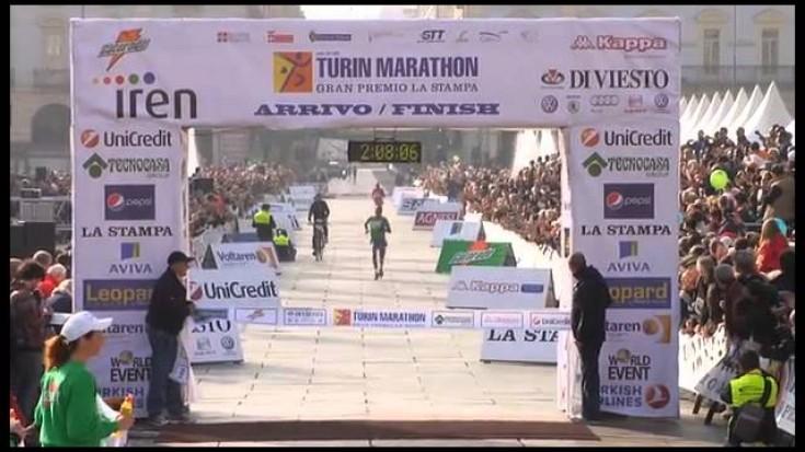 Turin Marathon 2011 - La Vittoria di Idrissi
