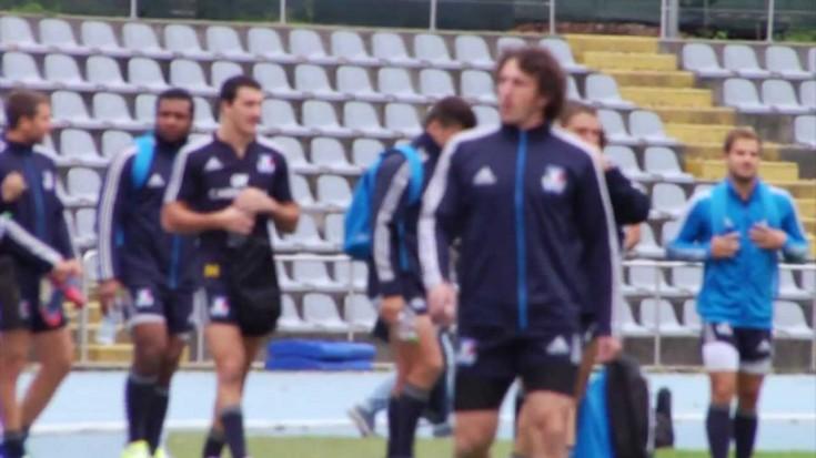 Rugby Italia vs Australia - Allenamenti al Primo Nebiolo