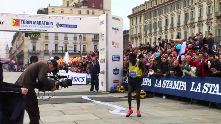 Turin Marathon 2013: L'arrivo di Patrik Terer