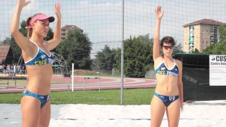 Beach Volley CUS Torino - La coppia Dalmazzo Fasano si racconta