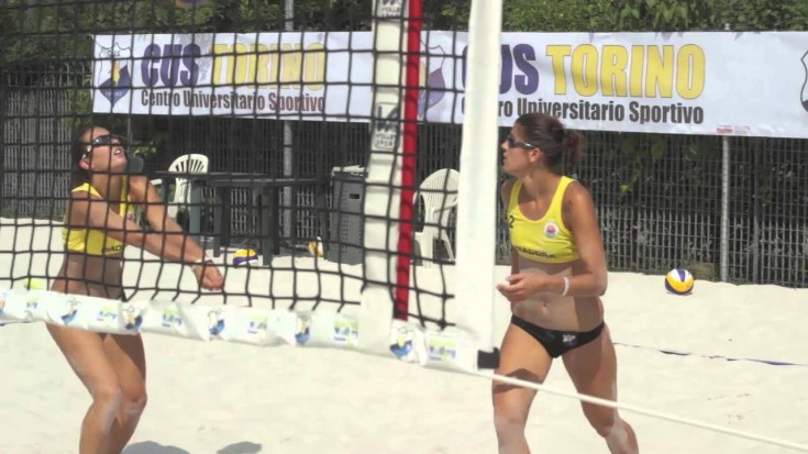 Intervista a Eleonora Gili e Silvia Costantini - Cus Torino Beach Volley
