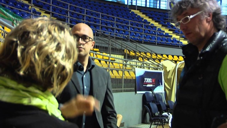 Maria Marconi incontra la PMS Manital Torino