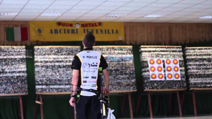 Marco Morello, il champ torinese di tiro con l'arco