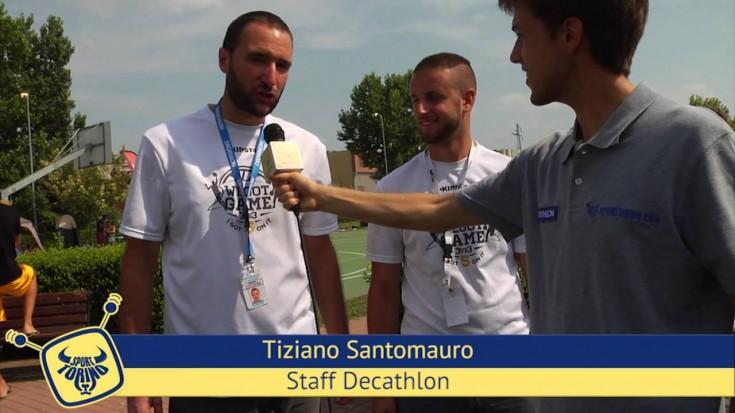 We Got Game - I got 5 on it, Summer Basket@Decathlon Moncalieri