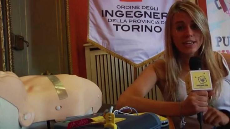 Un defibrillatore di Piemonte Cuore Onlus all'ordine degli Ingegneri della provincia di Torino