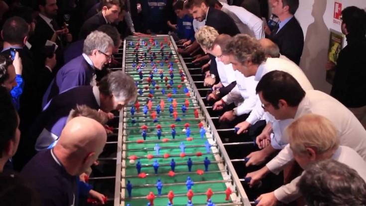 """""""Calcio di inizio"""" Fondazione Sandretto Re Rebaudengo"""