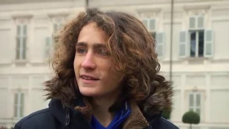Riccardo D'Ippolito, capitano dell'Atletico Torino
