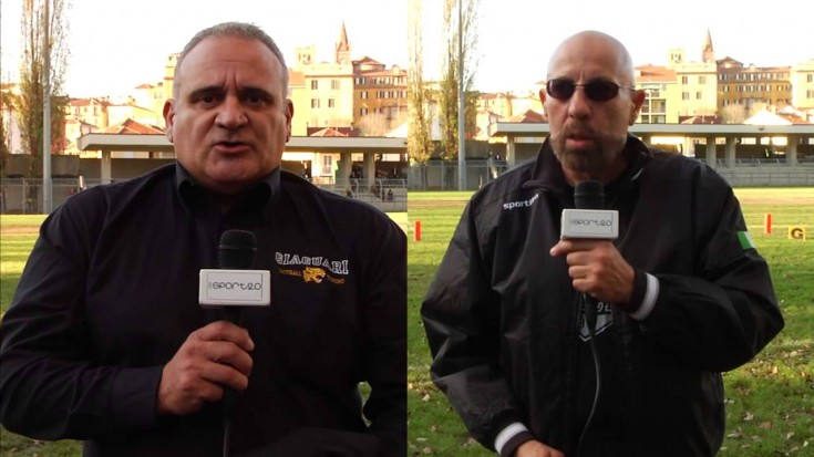 Giaguari Torino vs Blacks Rivoli : l'intervista doppia prima del Derby