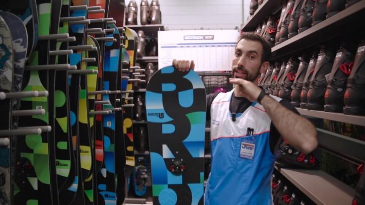 Come scegliere la tavola da Snowboard @ Decathlon Settimo Torinese