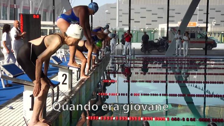 Torino World Masters Games: Michiko Hamuro e un amore senza età per il nuoto