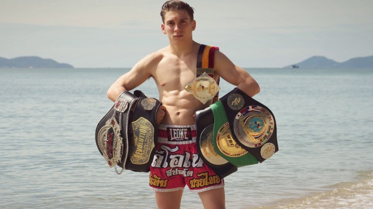 Mathias Gallo Cassarino - Il campione di Muay Thai Made in Italy