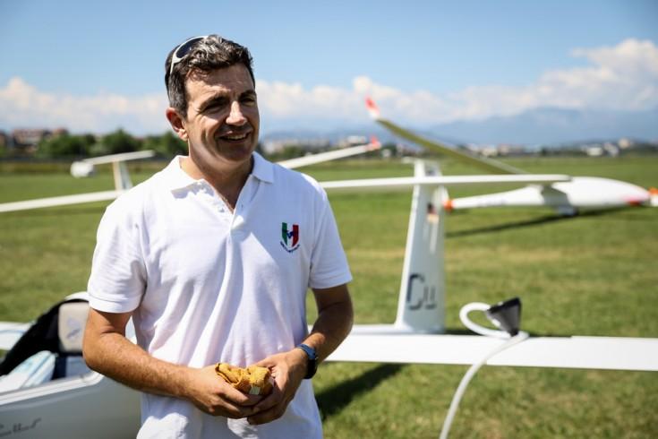 Giancarlo Grinza - Campione Italiano Volo a vela