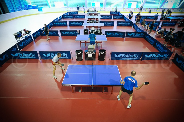TABLE TENNIS - WORLD MASTER GAMES 2013 IN TURIN