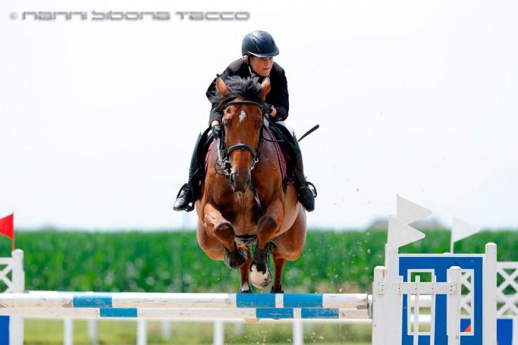 Equitazione - Horsebridge Club - None (TO) Salto ostacoli Nazionale A****