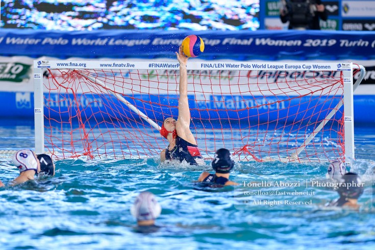 Europe Final Six Women  Ungheria  Vs Russia 15-14