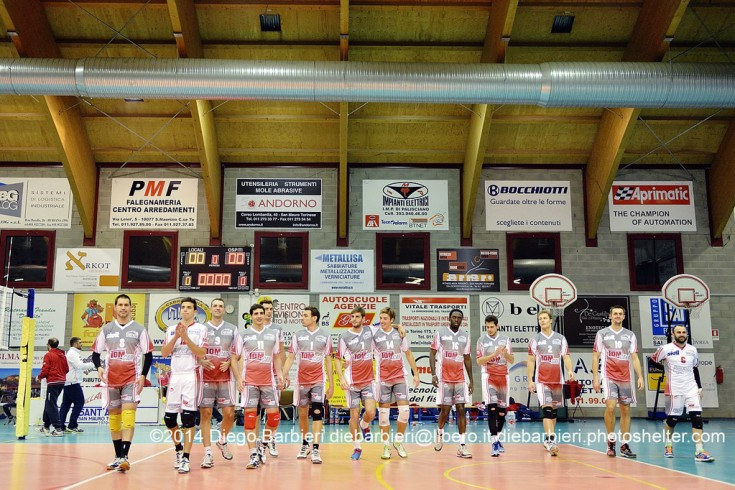 San Mauro Tomcar vs. Cagliari volley