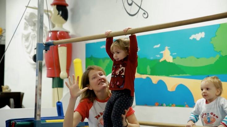 Baby Gym - A Torino, la prima palestra a misura di bambino d'Europa