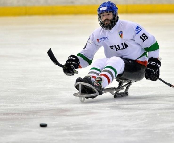 Para Ice Hockey: al Torneo Internazionale di Torino c'è l'Italia del futuro