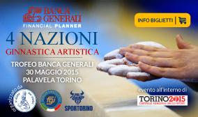 4 Nazioni di Ginnastica Artistica Trofeo Banca Generali 2015