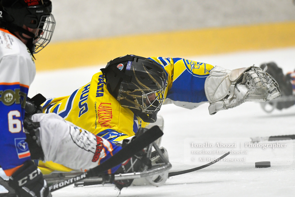 PARA ICE HOCKEY _Sportdipiù Tori Seduti Vs South Tyrol Eagles
