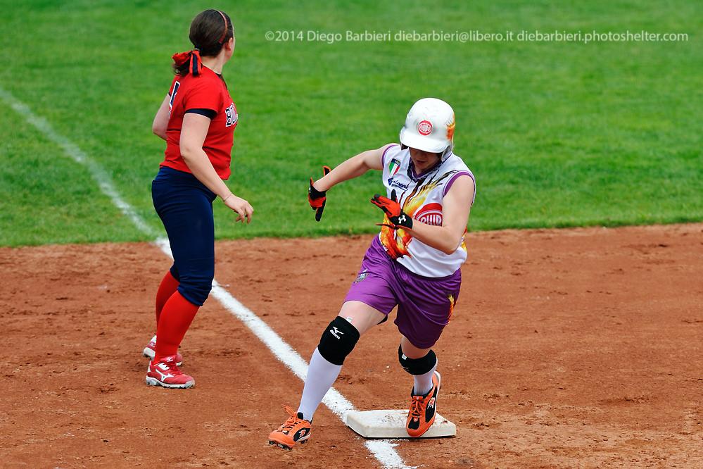 Rhibo La Loggia vs Bollate softball
