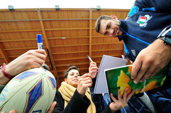 Rugby Italia vs Australia - Allenamento Primo Nebiolo