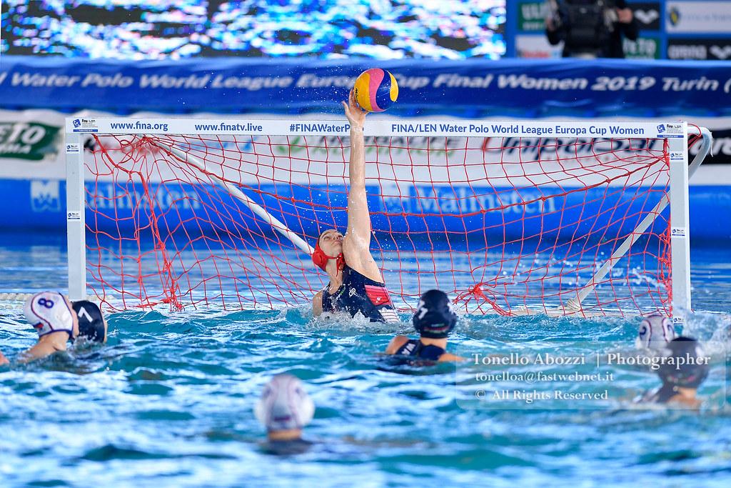 Europe Final Six Women  Ungheria  Vs Russia 15-14