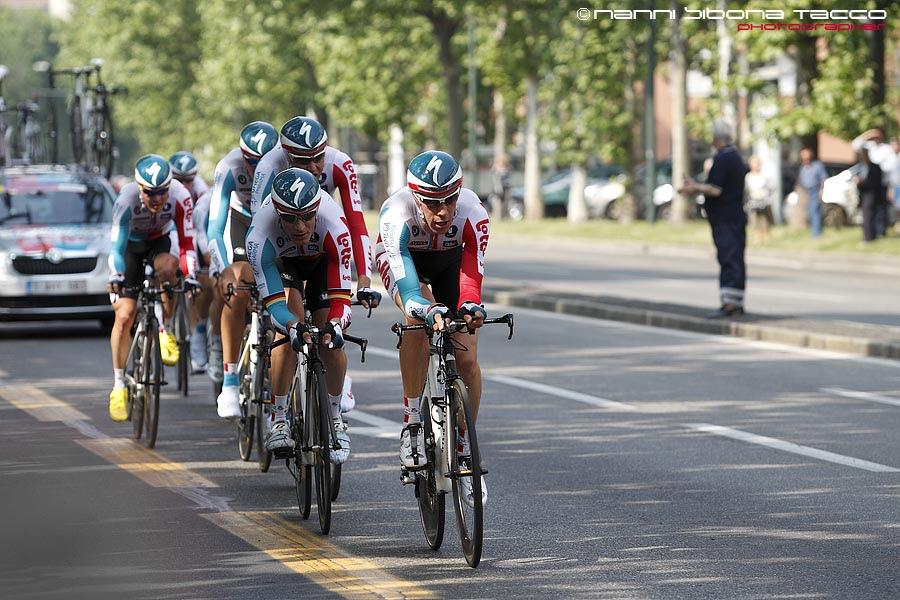 Ciclismo - Giro d' Italia 2011, Torino : prima tappa a cronometro