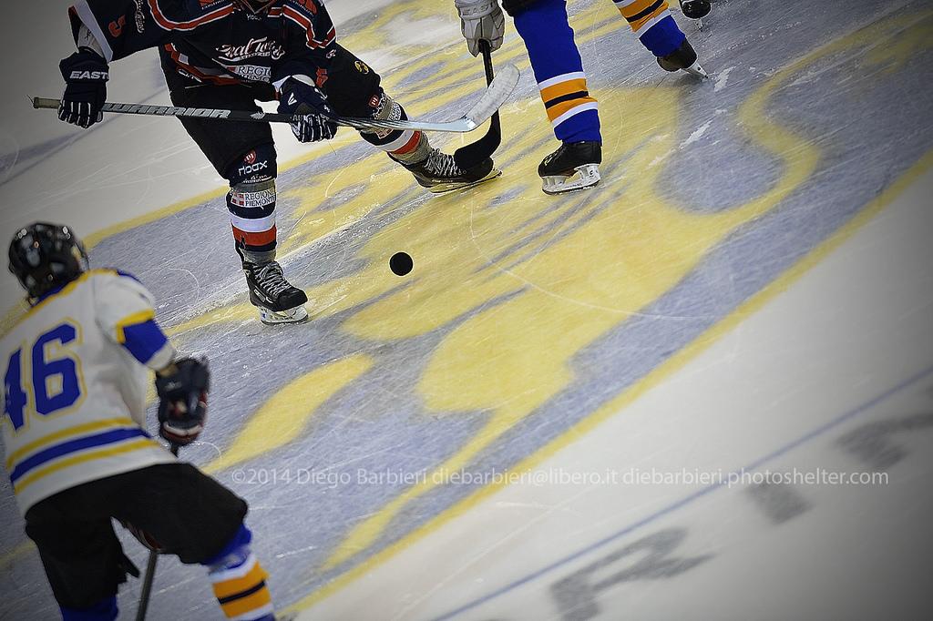 Bulls vs. Real Torino hockey
