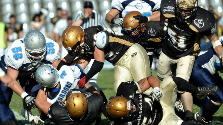 IV Italian Bowl: Lions Vs Titans - Foto Massimo Pinca