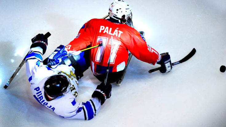 Sledge Hockey Torino - Foto Massimo Pinca