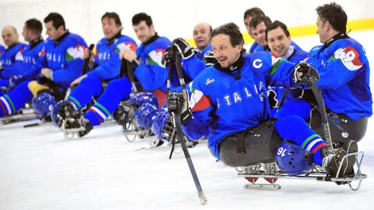 Italia Sledge Hockey- Foto Massimo Pinca