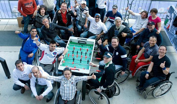 Coppa Italia di Calcio Balilla in carrozzina - Foto di Massimo Pinca