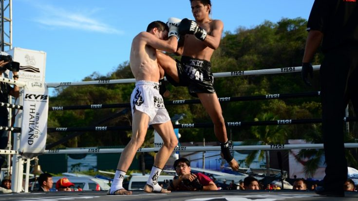 Mathias Gallo Cassarino al Thai Fight