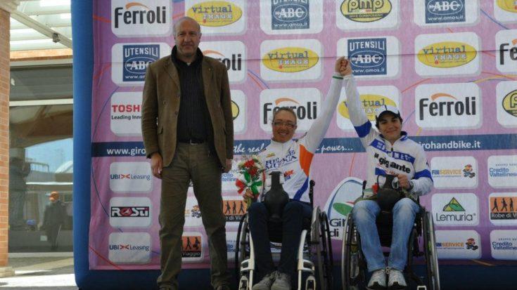 Francesca Fenocchio sul podio di Roma nella Coppa del Mondo di Handbike