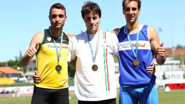 Michele Tricca medaglia d'oro ai Campionati Italiani 2012 Under20