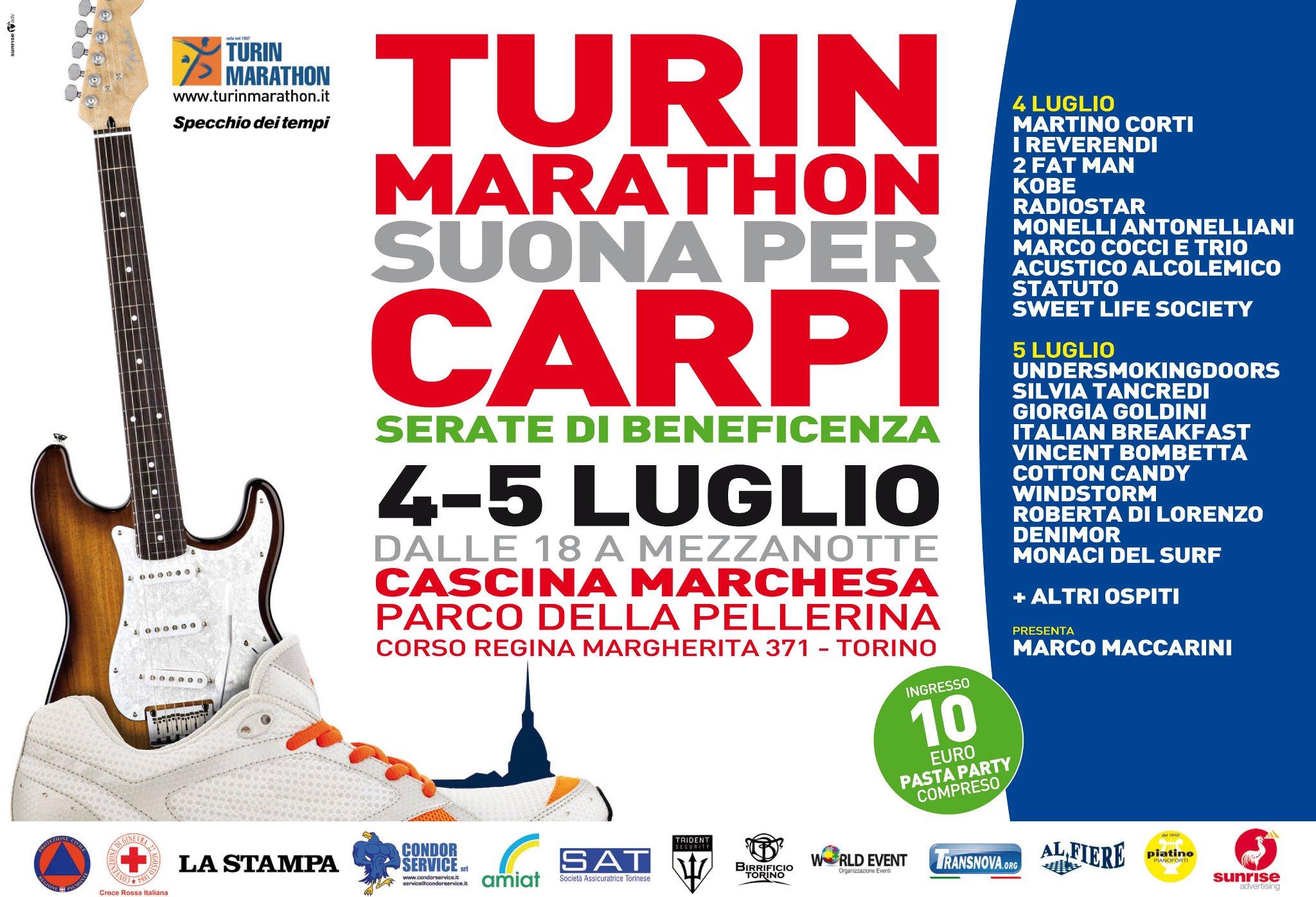 Turin marathon e la fondazione la stampa specchio dei tempi insieme per carpi sportorino - La stampa specchio ...