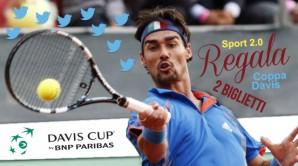 Sport 2.0 vi offre due biglietti gratuiti per la Coppa Davis