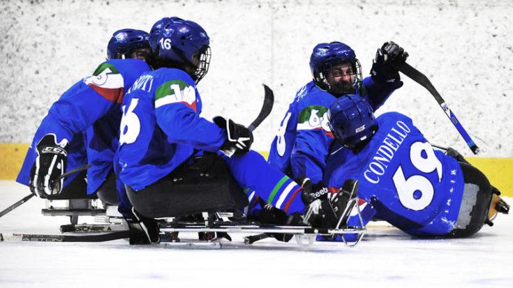Sledge Hockey Italia - Foto Massimo Pinca