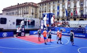 NBA 3x Tour - Piazza Castello Torino