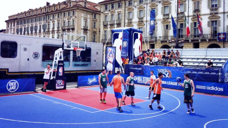 basket - NBA 3x