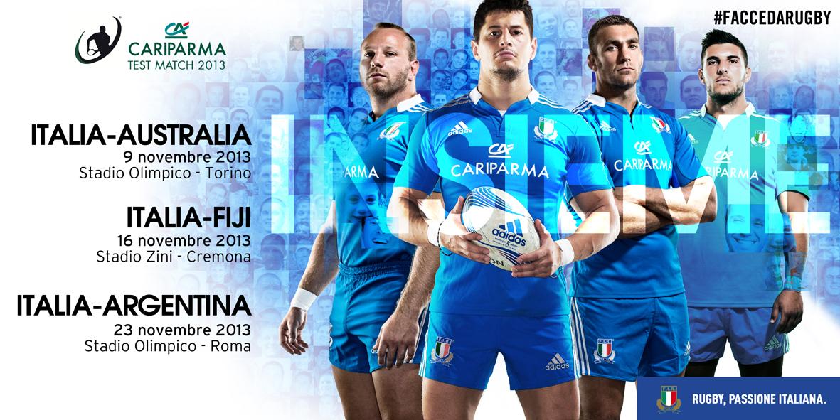 rugby gli azzurri sfidano i wallabies stadio olimpico 9 novembre ore 15 per il cariparma test. Black Bedroom Furniture Sets. Home Design Ideas