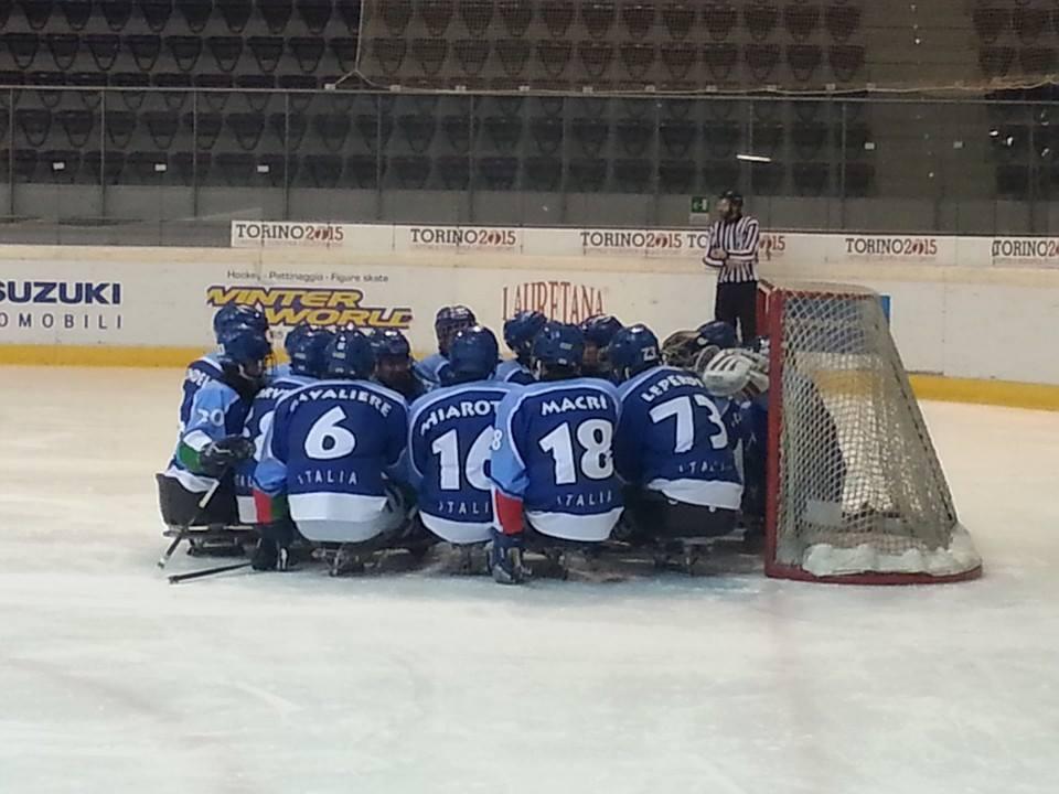 Ice sledge hockey al palatazzoli l italia si arrende ancora alla