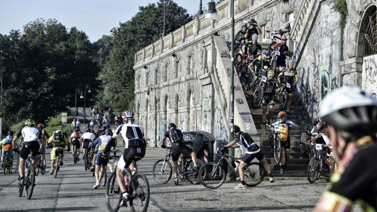mountain bike - torino vertical bike 2014 - foto Massimo Pinca