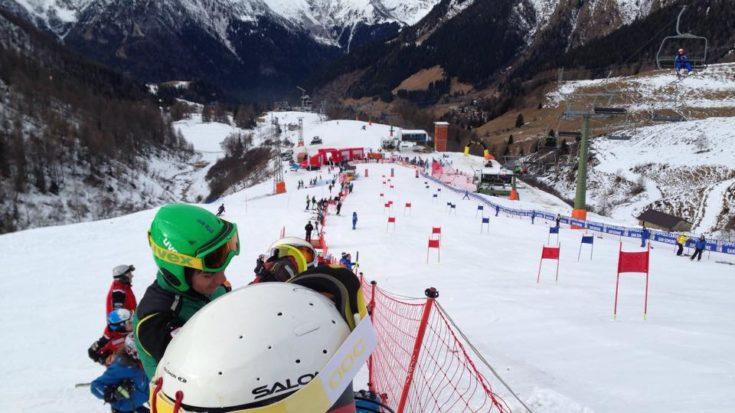 sci alpino - parallelo di natale